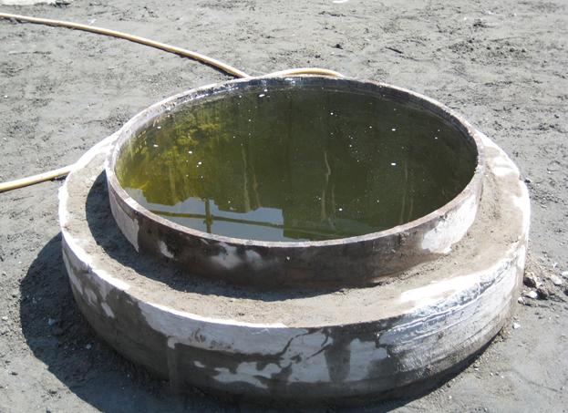 鋼管ソイルセレメント切断処理
